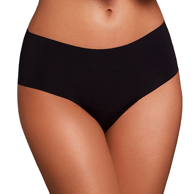 df2e0d22a31 ANGELE black high-waist bikini bottom. Swimwear