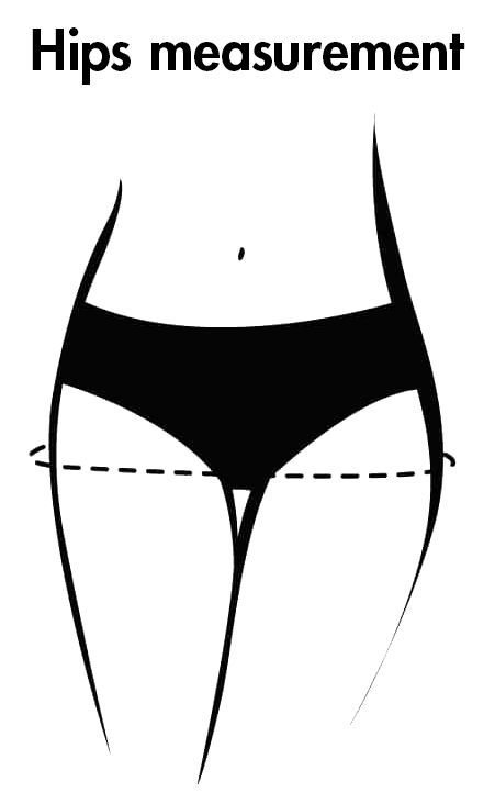 Hips measurement